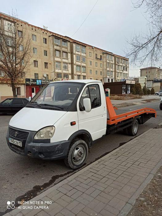 Газель эвакуатор по городу и регионом Шымкент - изображение 1