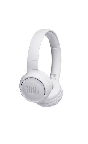 Casti On Ear JBL Tune 500, Wireless, Bluetooth, Autonomie 16 ore, Alb