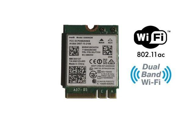 Modul Wireless Intel Dual Band 8260NGW, 802.11a/b/g/n/ac bluethoot 4.2
