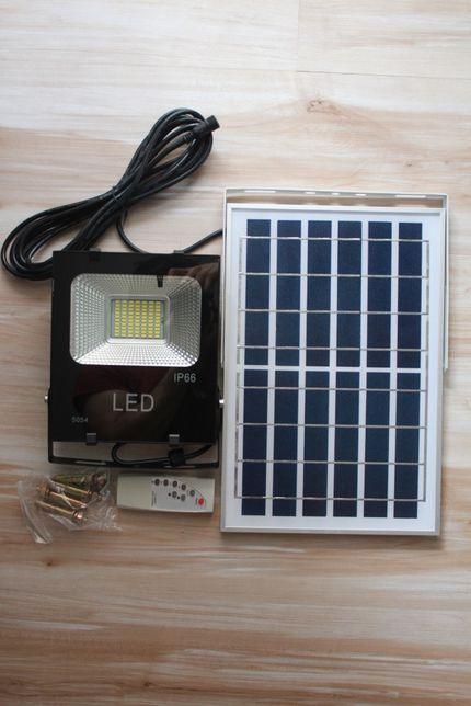 Kit proiector LED 40 w cu panou solar exterior pentru casa si gradina