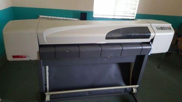 Плотер 42 инча HP Designjet 500