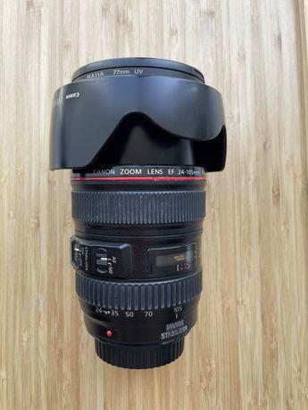Объектив Canon 24-105 и 55-250
