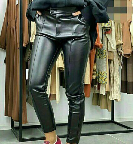 новые брюки из эко кожи