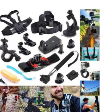 GK9 нов комплект аксесоари за екшън камери 10 части GO PRO SJCAM,EKEN