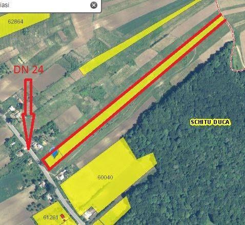 Vând teren in Satu Nou com. Schitu Duca