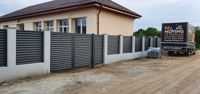 Jaluzele metalice pentru gard si porti Gri antracit Ral 7024