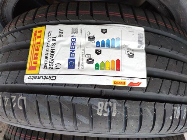 255/40r18 Pirelli Vând 4 anvelope vara noi