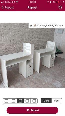 Столы для маникюра новые на заказ