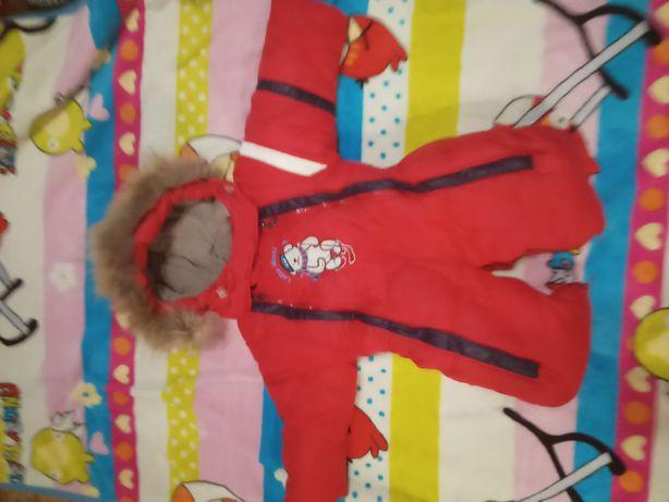 Продам детский комбез 2в1 зима осень