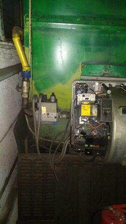 Aeroterma industriala gaz cu arzător Riello RS50