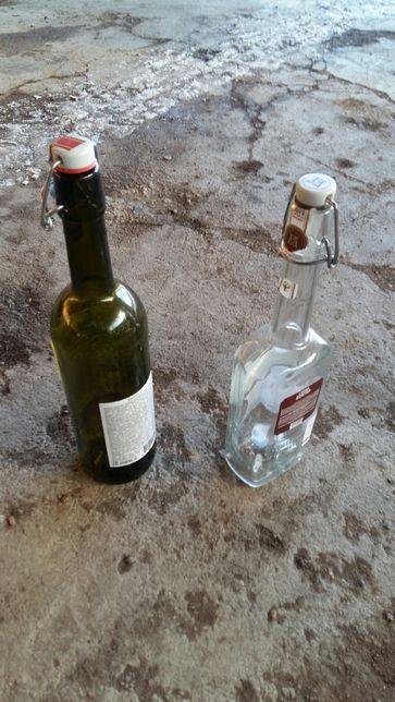 Бутылки с бугельной пробкой