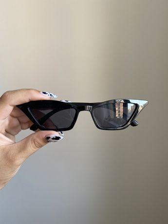 Эстетичные черные очки
