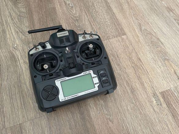 Turnigy 9x FrSky Upgraded RC Дистанционно FPV Дрон Drone