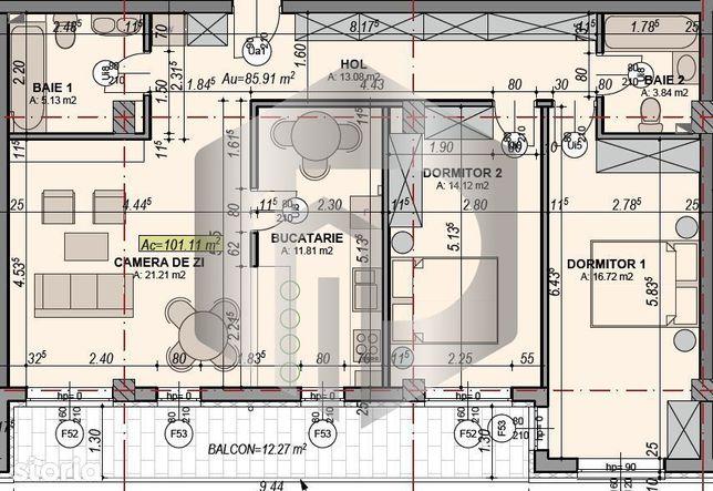 OFERTA   Apartament  3 Camere   Zona Boema   Comision 0%