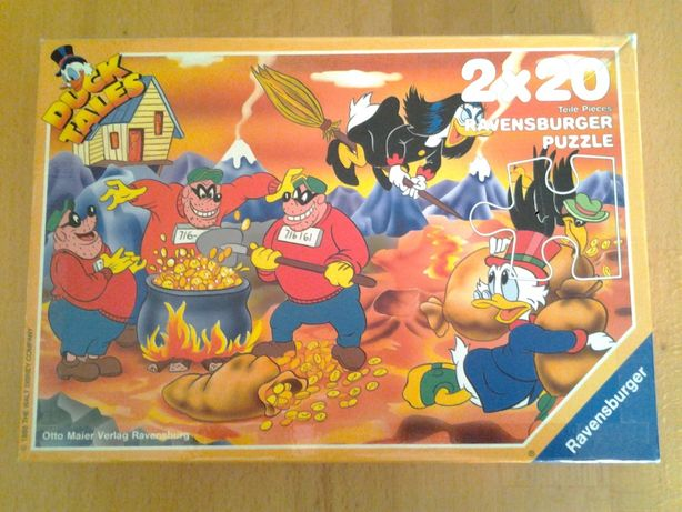 Ravensburger Duck Tales puzzle copii +4 - (2x20 piese)
