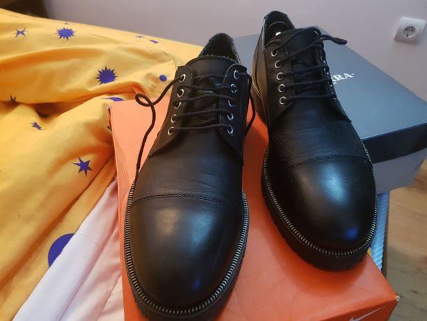 Vand pantofi piele naturala zara 43 stil derby