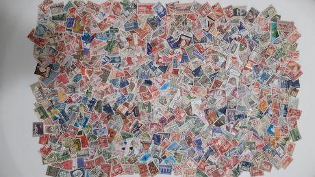 Lot 500 buc timbre stampilate Danemarca