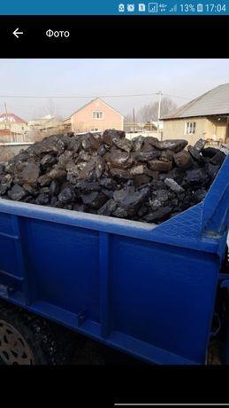 Уголь Жубаркуль кара-жира отборный Доставка по городу и области Зил