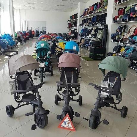 """Велосипед трёхколёсный Happy Baby """"MERCURY"""" складной"""
