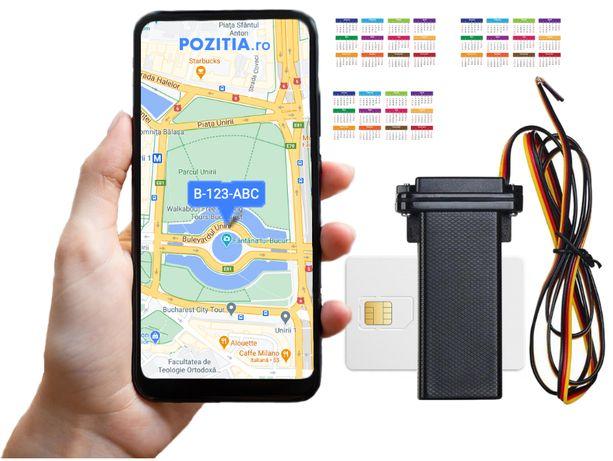 Dispozitiv Urmarire Tracker GPS auto/moto/camion 1 An inclus gratuit
