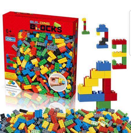 Set de constructie pentru copii, 1000 de piese, Jumei, multicolor