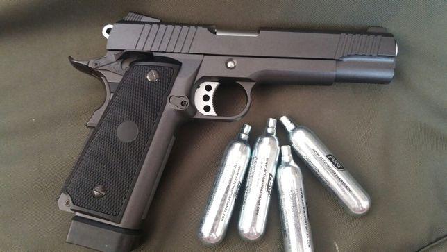 Pistol airsoft Colt 1911 FullMetal recul 4.5jModificat Walther P99 DAO