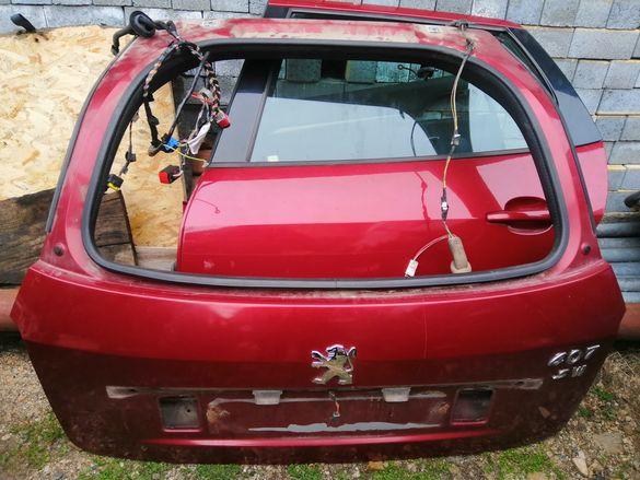 Заден капак(багажник) за Пежо-407SW(комби)