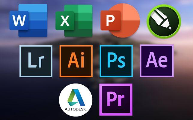 Программы Apple macOS. Adobe Premiere Pro After Effects InDesign