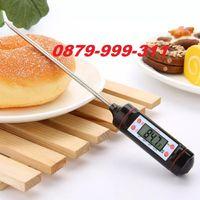 Дигитален Термометър за храни и течности кухненски термометри готвене