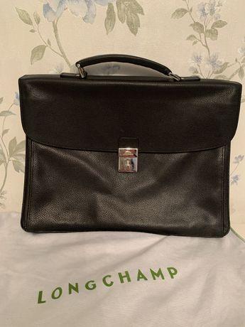 Lux Оригинал Longchamp Мужской портфель