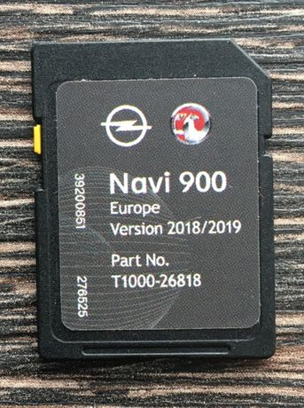 Opel Vauxhall Chevrolet NAVI 900/600 sd card Навигация 2019гд сд карта