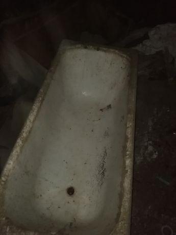 Чугунная ванная в идеальном состоянии