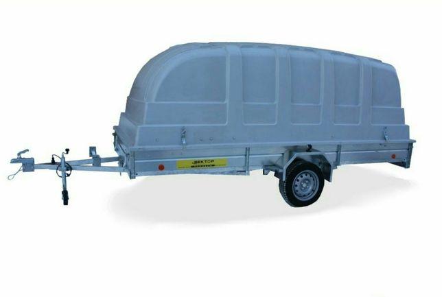 Продается прицеп ЛАВ 81012С 4.0, размер 4000 на 1800 мм