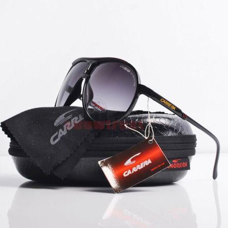 Ochelari de soare Carrera champion retro aviator rotund +cutie+laveta