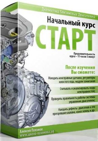 Диагностика бензиновых двигателей. Основы Алексей  Пахомов