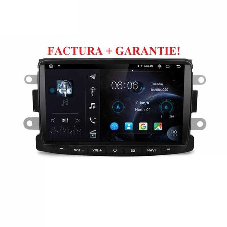 Navigatie Android Dacia Logan Sandero Lodgy Symbol Wifi Bluetooth