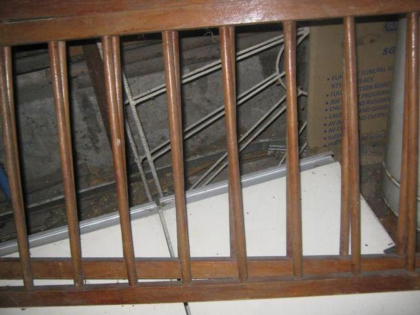 Деревянные бортики для детской кроватки(высота 50см, длина 112см)