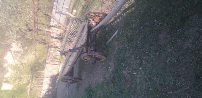 Căruță rustică