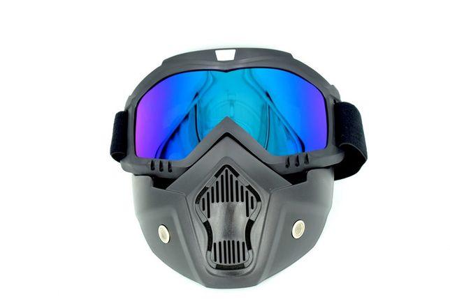 Masca cu ochelari protectie Moto ATV Schi Snowboard