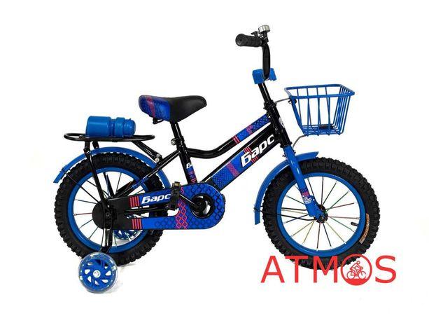 Детский велосипед Барс 14 | Год гарантии | Цвет: темно-синий