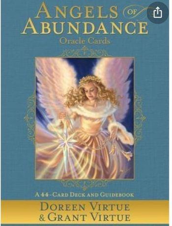 4 pachete de  carti oracol/tarot Angels of Abundance + Energy  Cards+