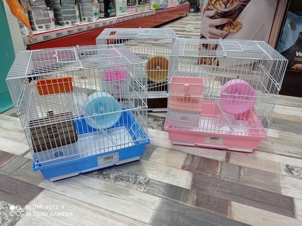 Клетка для хомячков комплект