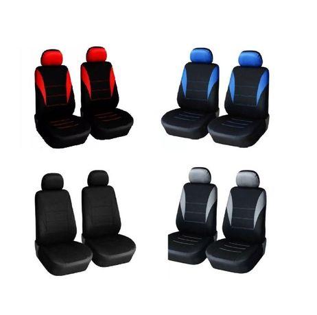 1+1 универсална авто тапицерия ,калъфи за предни седалки, четири цвята
