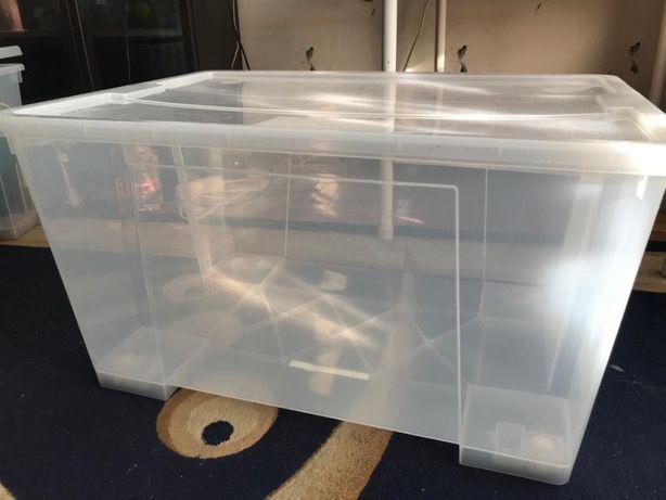 Контейнеры пластиковые на 130 литров. с колесиками б/у