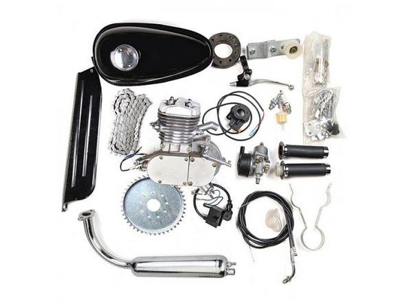 мотор бензинов 80 кубика за велосипед ,двигател,агрегат,комплект