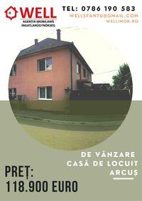 De vânzare o parte din casă tip duplex, Arcuș