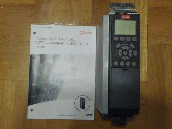 Честотен регулатор(инвертор) Danfoss 1,1кw FC302