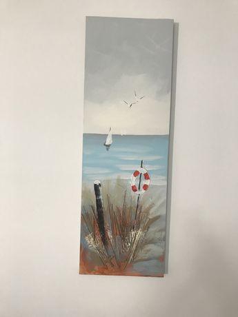 Vand tablou pictat panza
