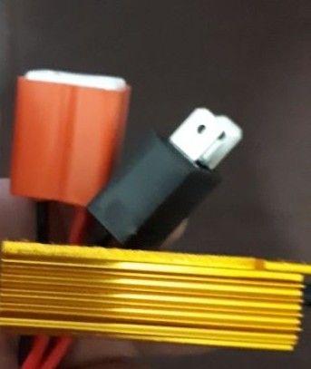 NOU! Anulator eroare bec LED H7 adaptor cu mufe ceramice