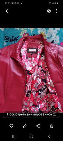 Кожаная (Турция)  куртка